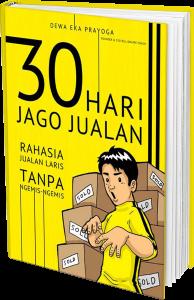 jual buku 30 hari jago jualan